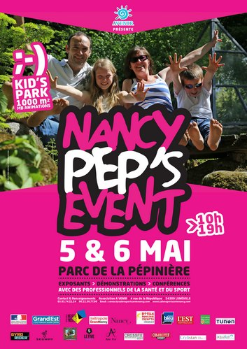 Affiche Nancy Peps event 2018