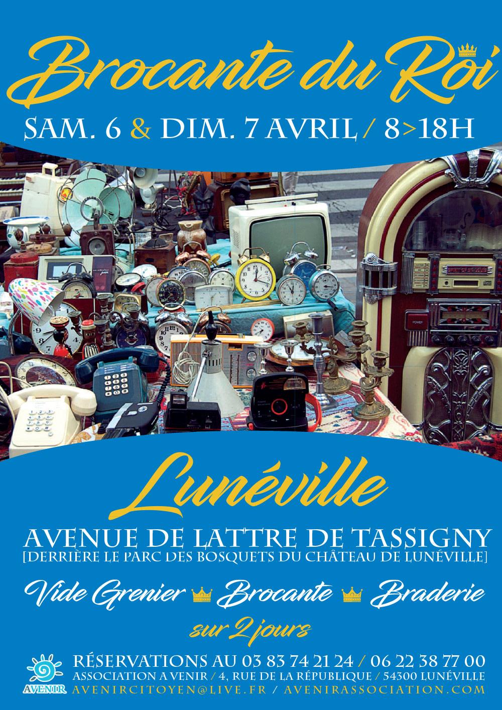 Brocante du Roi 18 & 19 Mai 2019 Lunéville