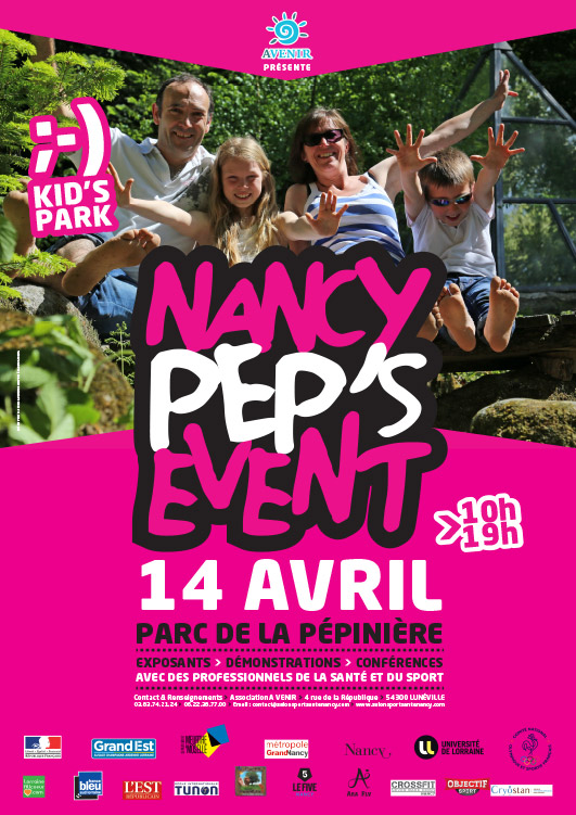 Affiche Nancy Peps event 2019