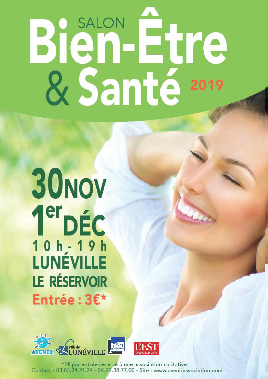 Salon Bien-Être & Santé Lunéville 30 Novembre - 1er Décembre 2019